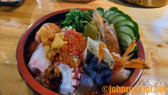 ai sushiの生ちらし丼