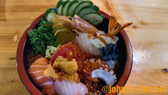 ai sushiのちらし丼