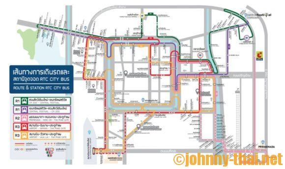 スマートバス路線図