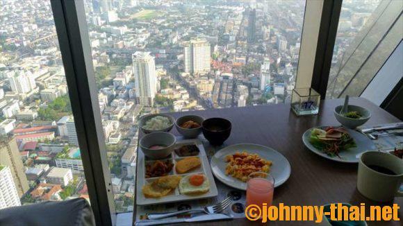 バイヨークスカイホテルの朝食