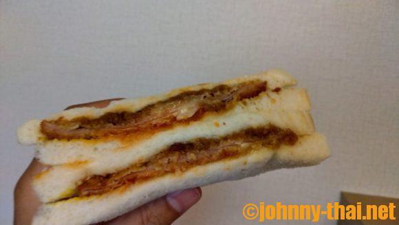 ハムチーズカツサンド