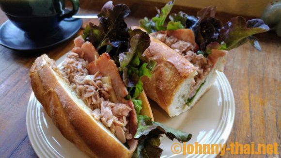 バーンベーカリーのサンドイッチ
