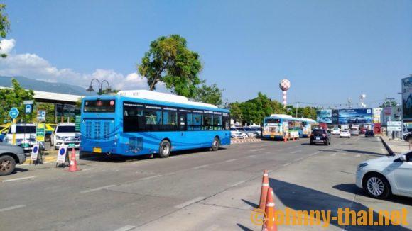 チェンマイ空港のスマートバス
