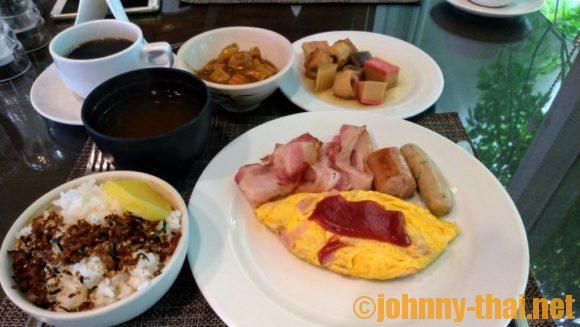 カンタリーヒルズの朝食ブッフェ