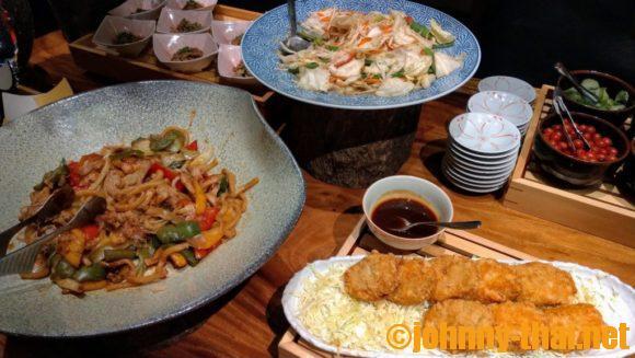 飛翔のディナー天ぷらオーダーブッフェ