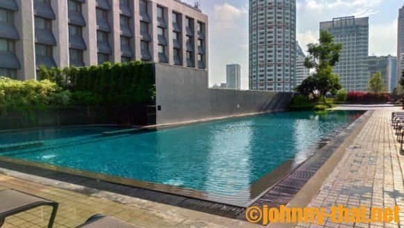 ホテルニッコーバンコクのプール