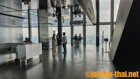 マハナコンタワー74階展望室