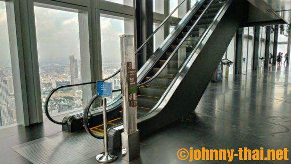 マハナコンスカイタワー屋内展望フロア(74階)