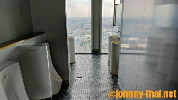 マハナコンスカイタワー屋内展望フロア(75階)トイレ
