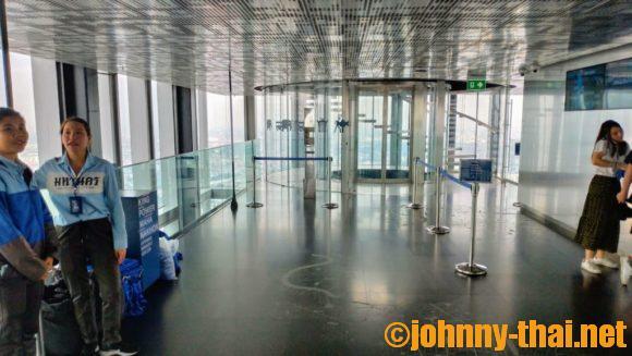 マハナコンスカイタワー屋内展望フロア(75階)