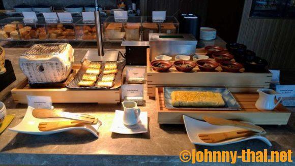 ホテルニッコーバンコクエグゼクティブラウンジの朝食