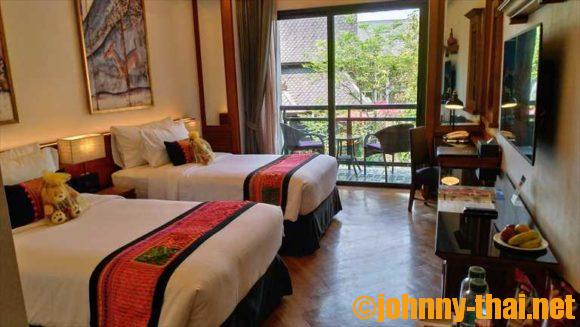 チャラ ナンバー6(チェンマイ旧市街ホテルおすすめ)の客室