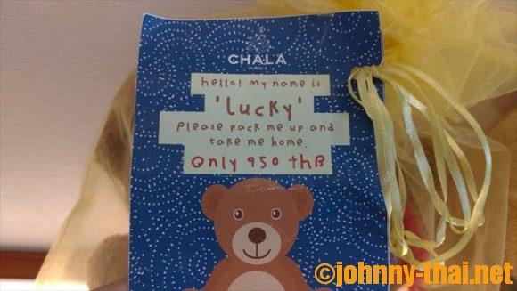 Chala Number6のクマ
