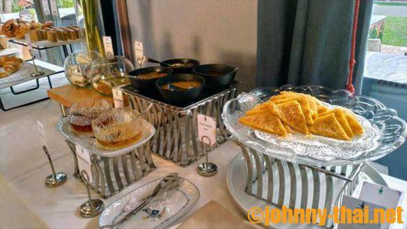 チャラナンバー6の朝食ブッフェ