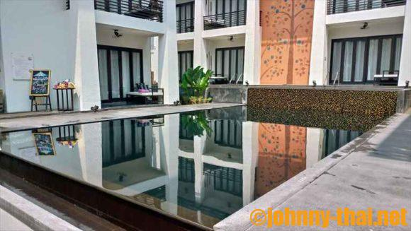 Uチェンマイホテルのプール