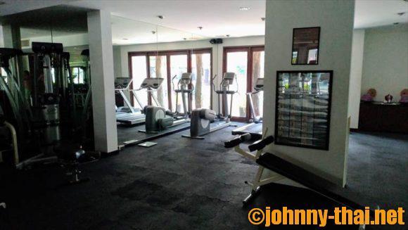 Uチェンマイホテルのジム