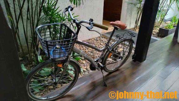 Uチェンマイホテルのレンタルサイクル