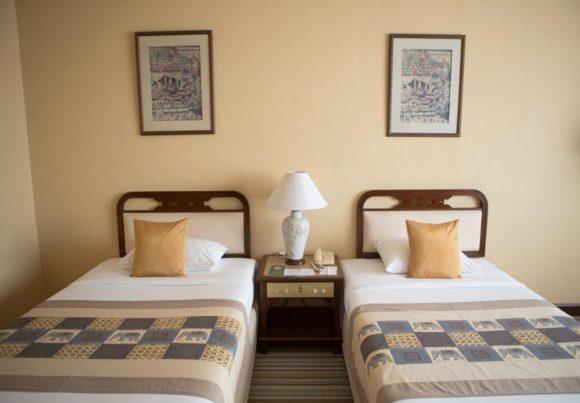 チェンマイプラザホテルの客室
