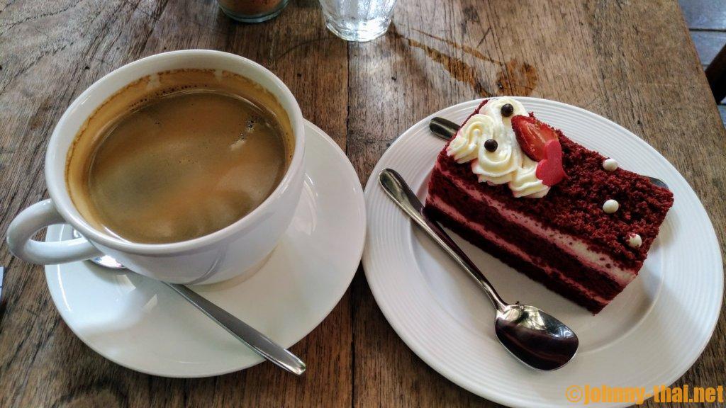 Cafe de L'Amourのケーキ