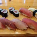 三鳥(チェンマイ日本食レストラン)の握り寿司