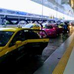 ドンムアン空港のタクシー乗り場