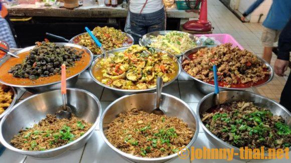 タニン市場のお惣菜
