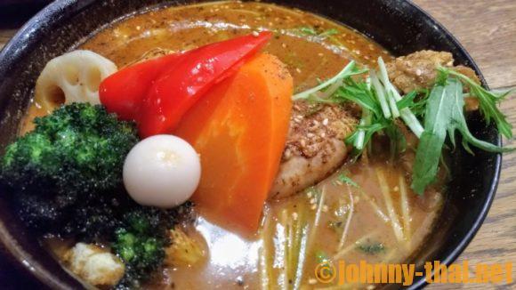 GARAKU札幌本店のスープカレー(チキン)