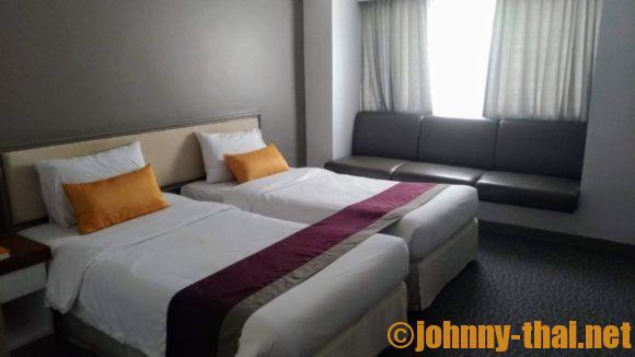 スターホテルチェンマイの客室