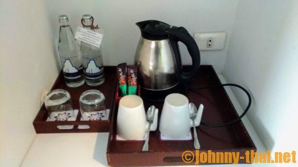 スターホテルチェンマイの無料サービスの飲料水