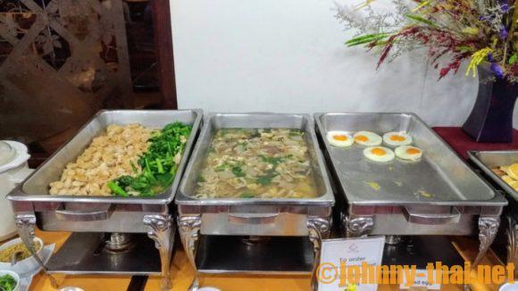 スターホテルチェンマイの朝食ブッフェ