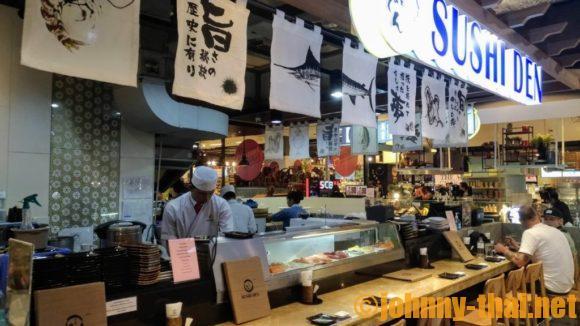 ターミナル21地下の寿司屋