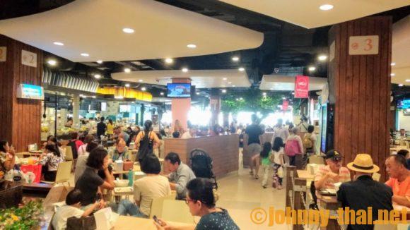 ターミナル21フードコート画像