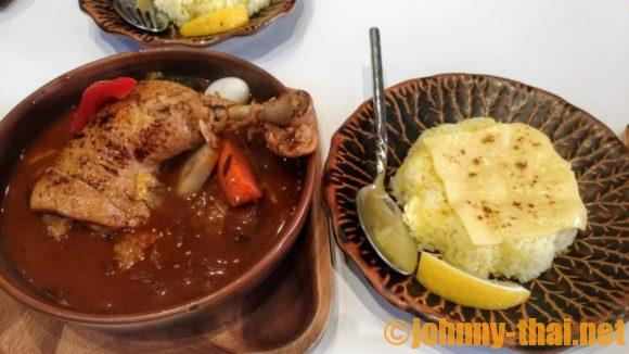 GARAKUバンコクのスープカレー(チキン)
