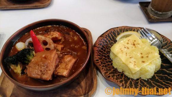 GARAKUバンコクのスープカレー(ポーク))
