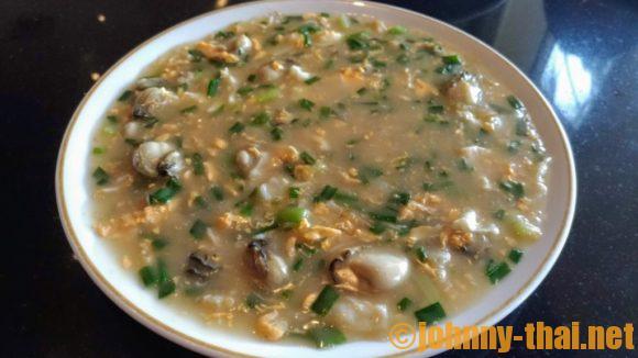 ジアトンヘンの牡蠣の卵とじ