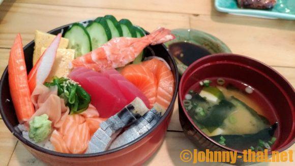 おかあさん(チェンマイ日本食レストラン)の生チラシ