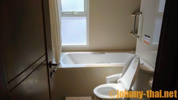 Vレジデンスホテルのトイレ